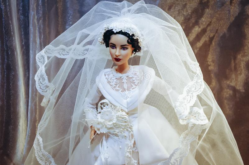 Objeto expuesto de la mu?eca de Barbie fotos de archivo libres de regalías