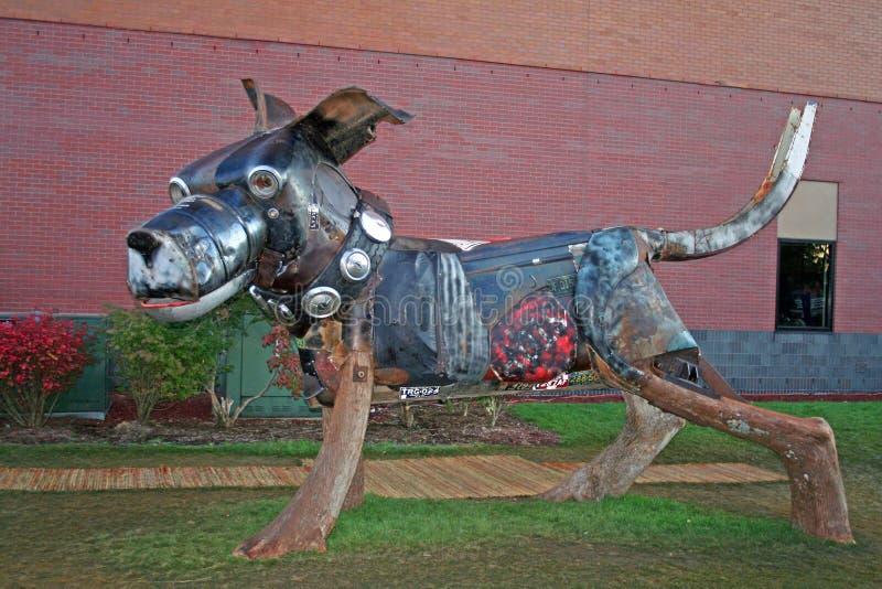 Objeto expuesto del arte de un perro fotografía de archivo