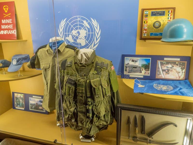 Objeto expuesto en los museos militares, Calgary fotos de archivo