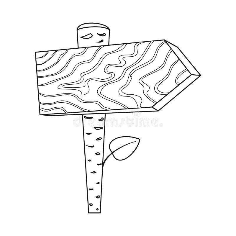 Objeto isolado do sinal do signage e do sinal Ajuste do ícone do vetor do signage e da seta para o estoque ilustração stock