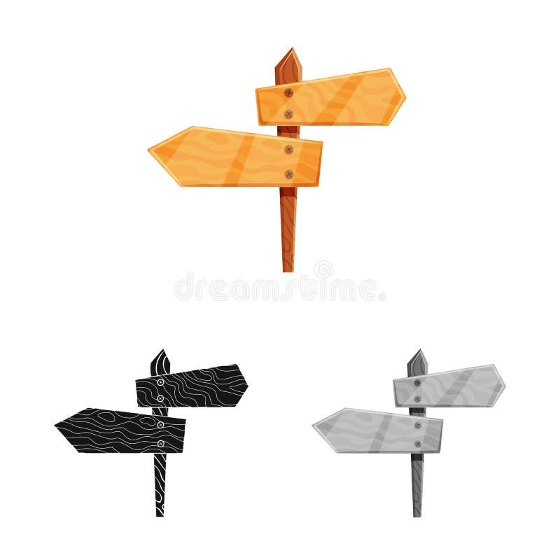 Objeto isolado do sinal do signage e do sinal Coleção do signage e da ilustração conservada em estoque do vetor das rosas ilustração royalty free