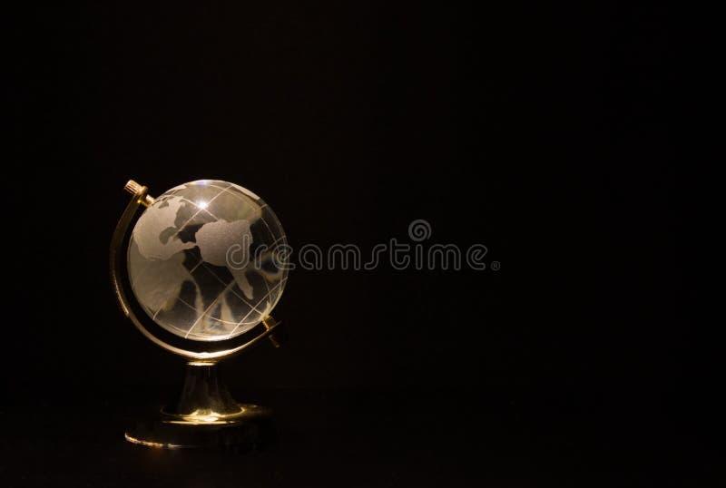 Objeto mínimo do projeto do globo imagens de stock royalty free