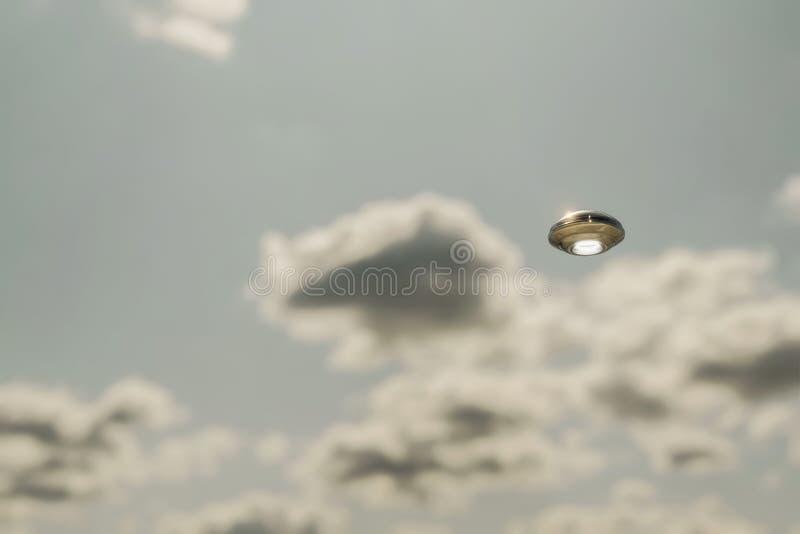 Objeto volante no identificado foto de archivo libre de regalías