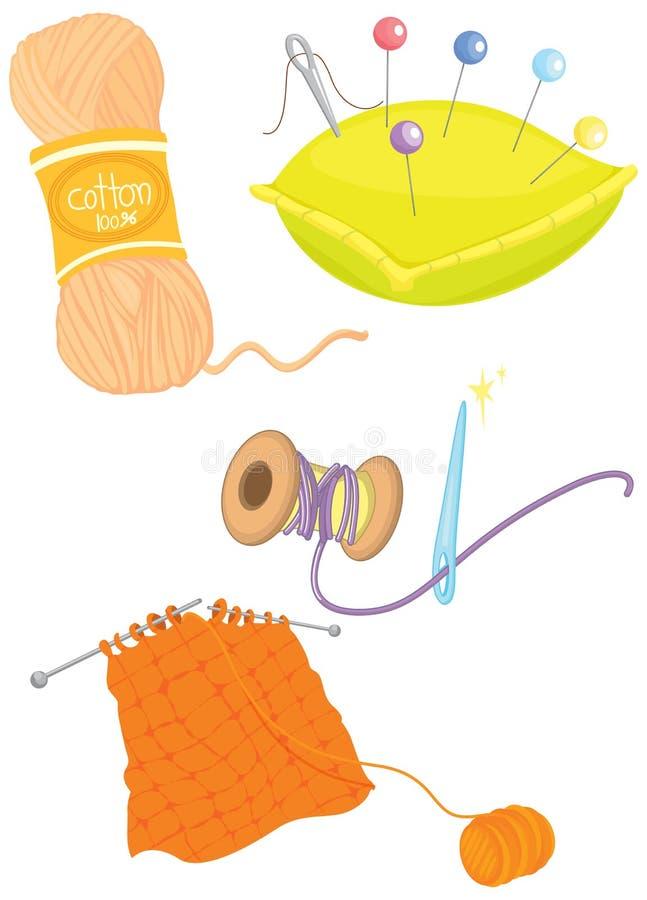 Objetos ilustração do vetor