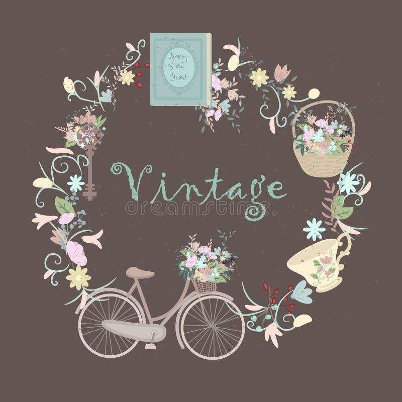 Objetos bonitos do vintage imagens de stock royalty free