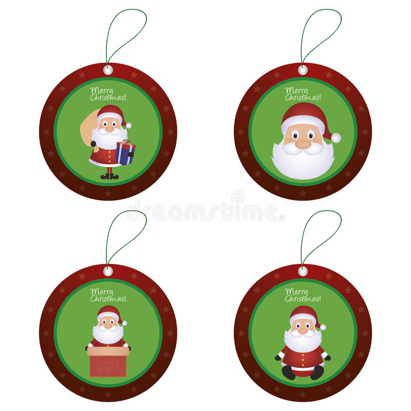 Objetos de la Navidad libre illustration