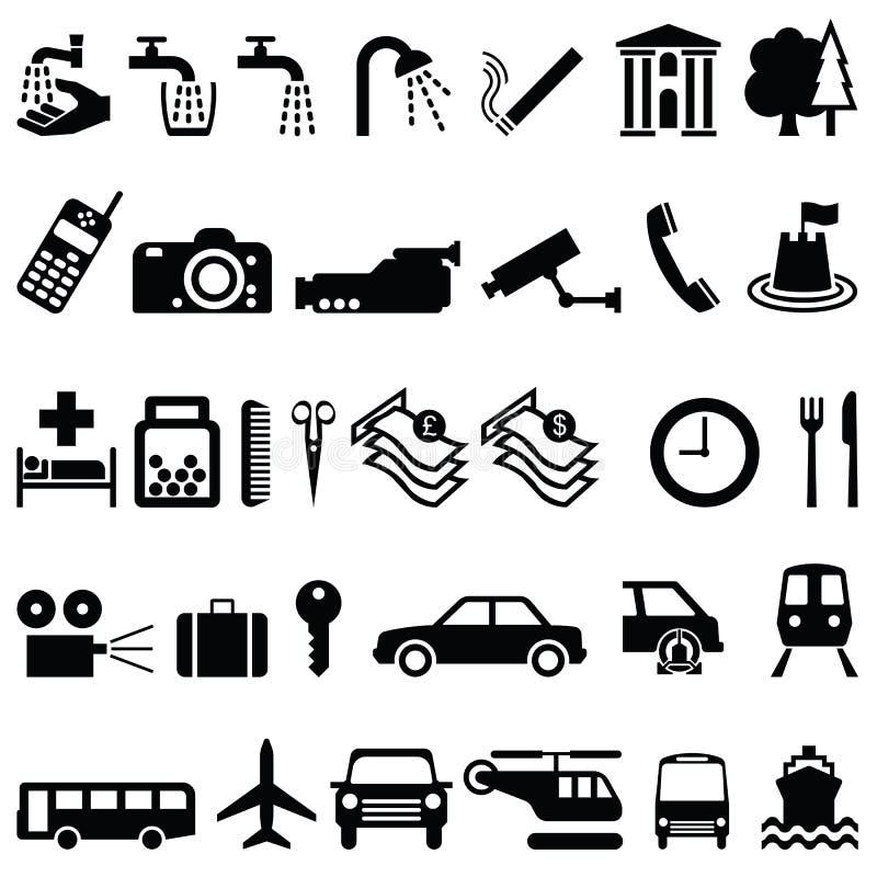 Objetos de la señalización libre illustration
