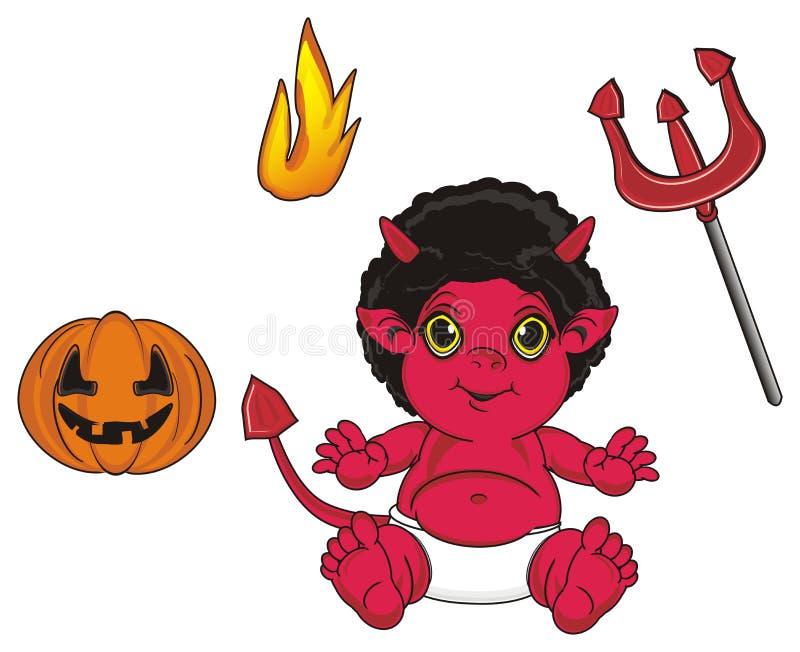 Objetos del demonio y del ` s del demonio libre illustration