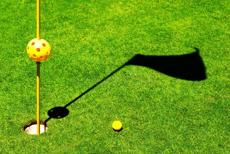 Objetos del golf fotos de archivo libres de regalías