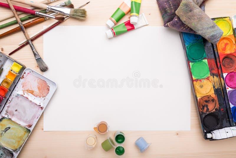 Objetos do desenho foto de stock