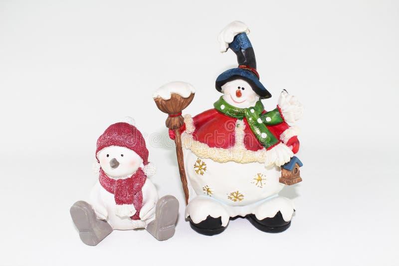 Objetos do Natal imagem de stock