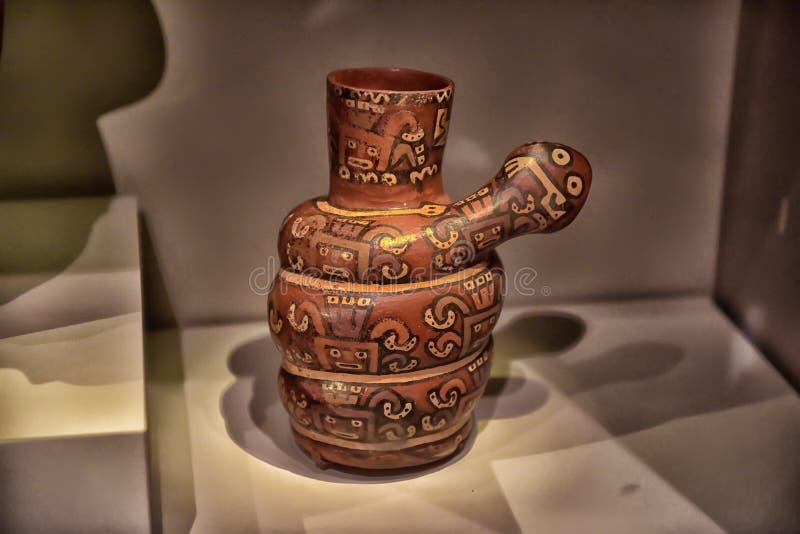 Objetos expuestos en el museo de indios americanos, imágenes de archivo libres de regalías