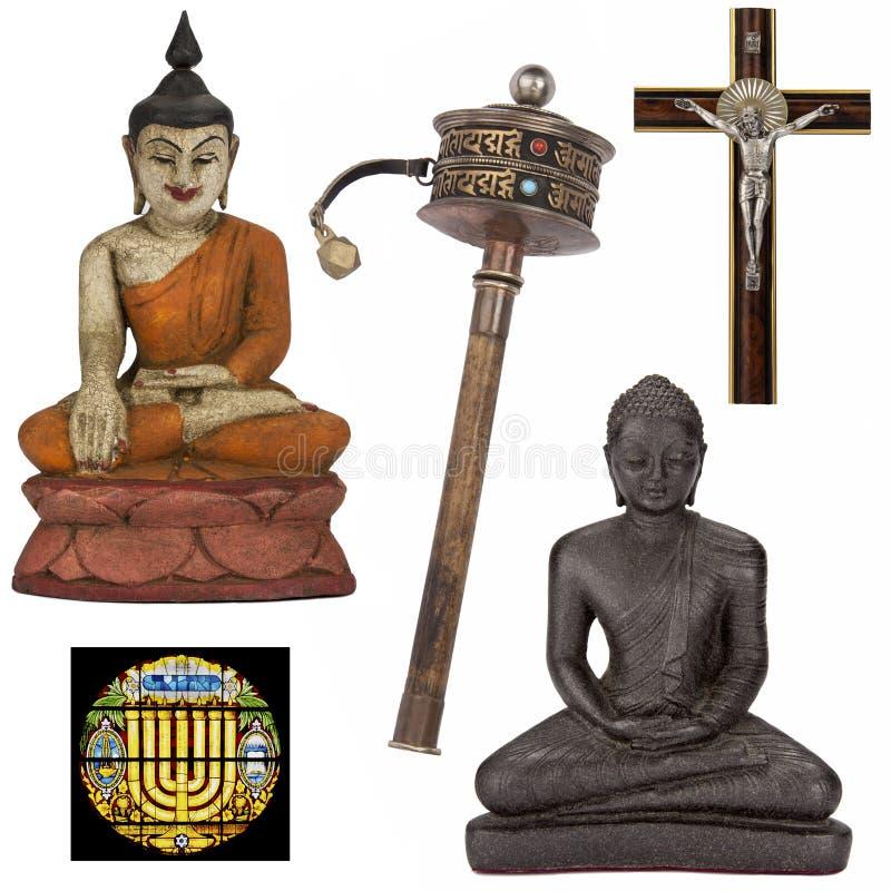 Objetos religiosos para el recorte - aislado fotos de archivo libres de regalías