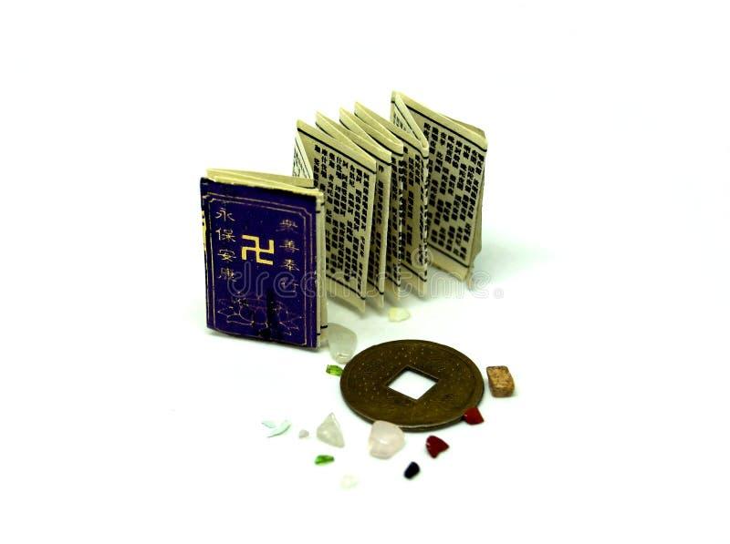Objetos sagrados do budista imagens de stock