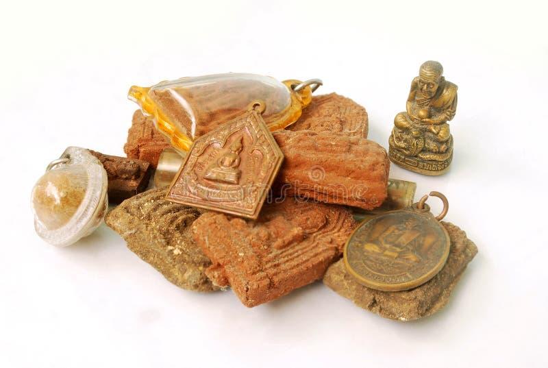 Objetos sagrados tailandeses foto de stock royalty free