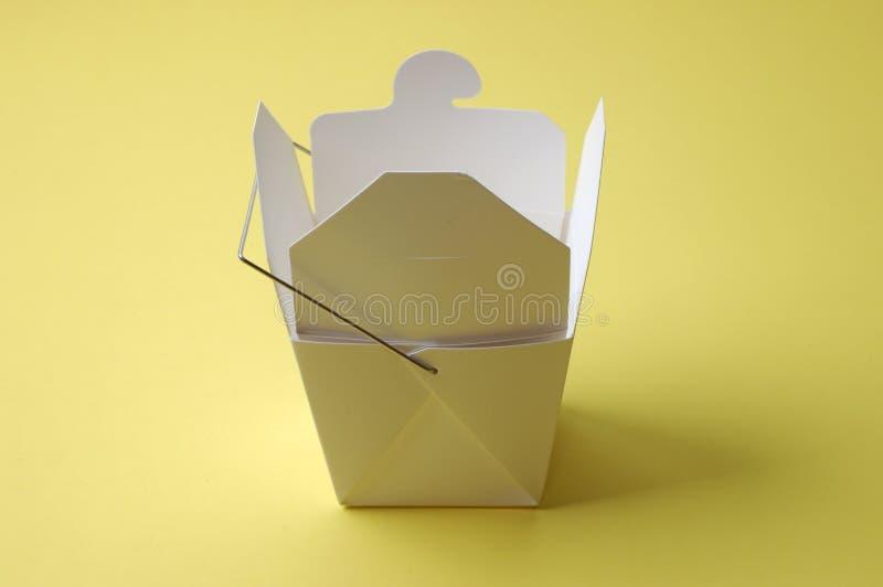 Objets - carton de Carryout photo libre de droits