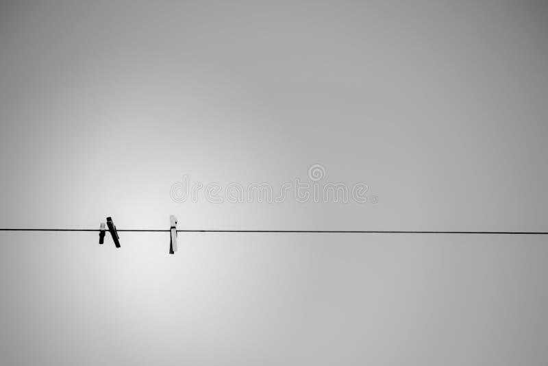 Objets dans le ciel photographie stock