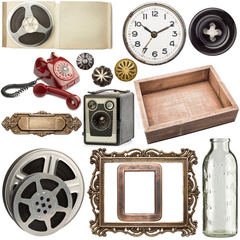 Download Objets de vintage image stock. Image du film, fleuri - 56484631