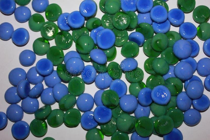 Objets en verre abstraits image stock