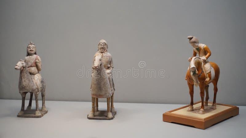 Objets façonnés et illustrations impériaux chinois antiques images libres de droits