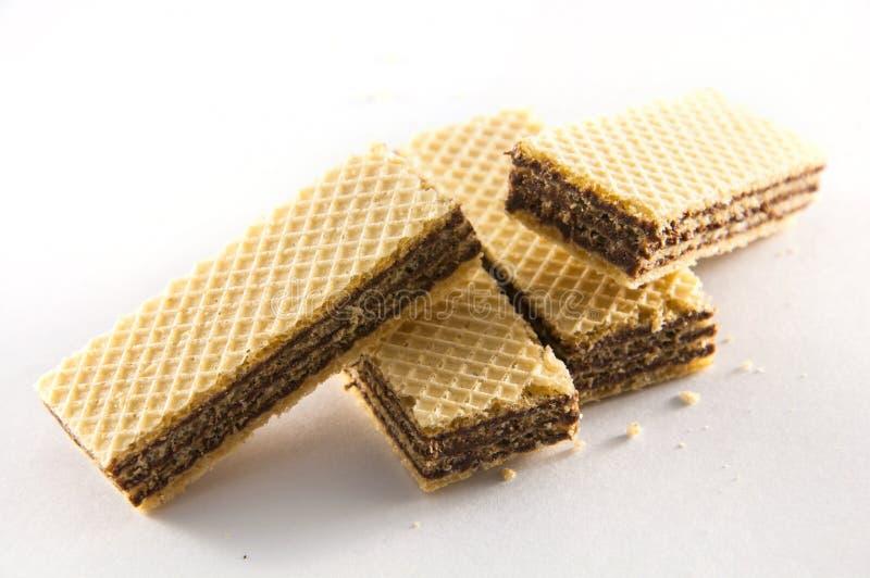 Obleas del caramelo. fotos de archivo