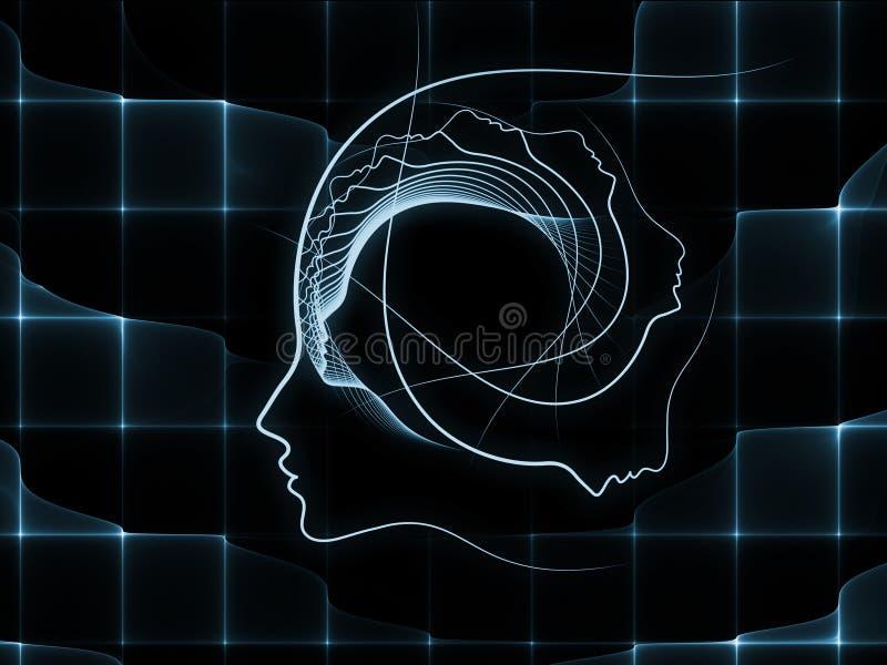 Obliczać duszy geometrię ilustracja wektor