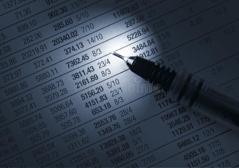 oblicza pieniężnego obraz stock
