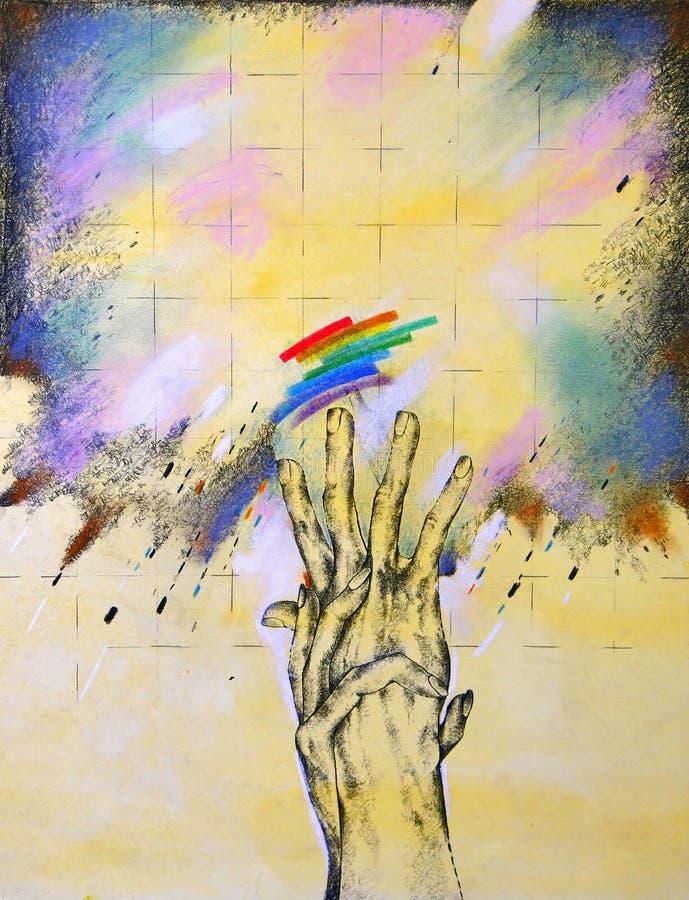 Obligation d'être humain illustration libre de droits