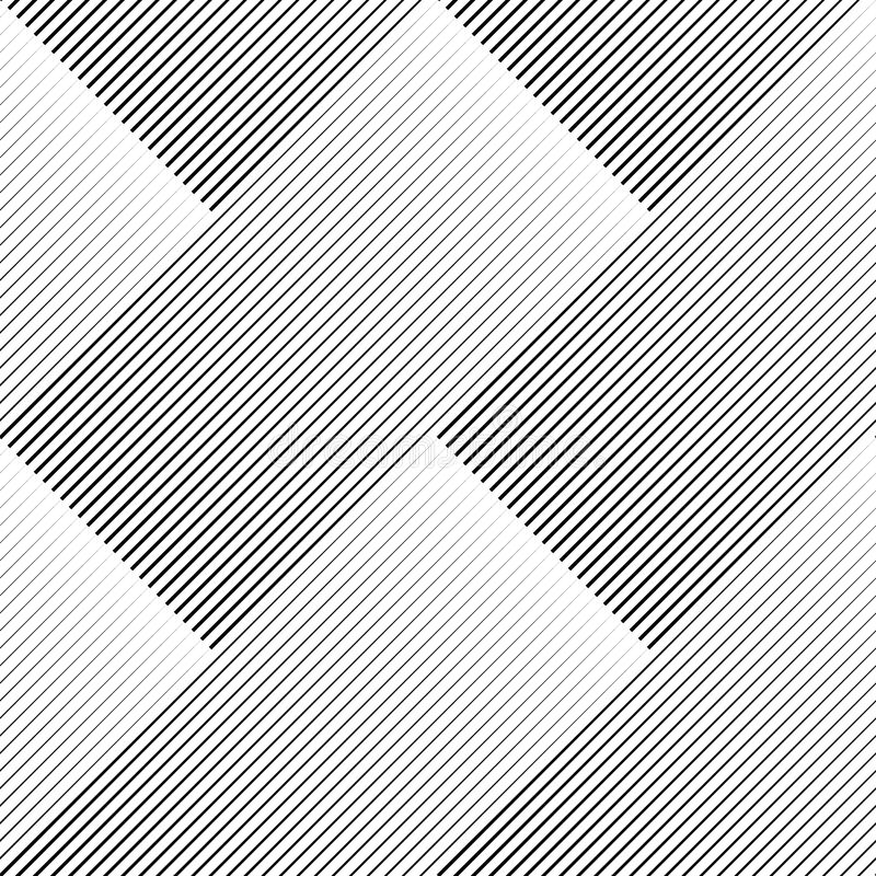 Oblique straight parallel lines seamless pattern. Dashed, diagonal and parallel lines of different lengths. vector illustration