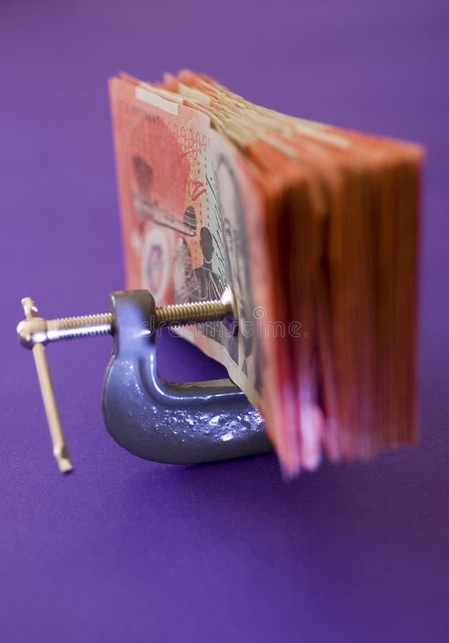 obniżonych wydatków zdjęcia stock
