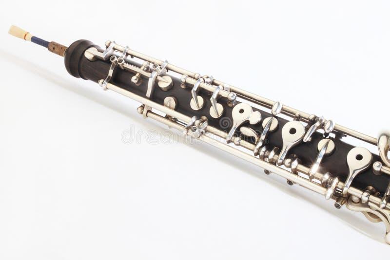 Oboe - Musikinstrumente stockbild