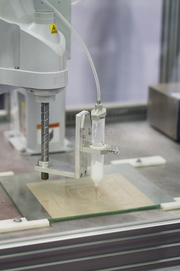 Obot and automation system for modern manufacturing stock images