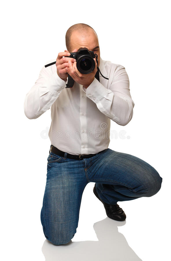obowiązku fotograf fotografia royalty free