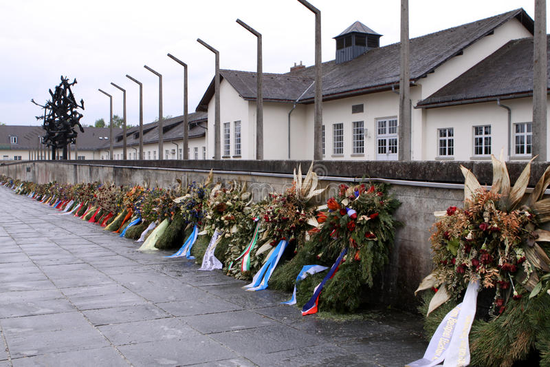 obozowy koncentracyjny dachau fotografia royalty free