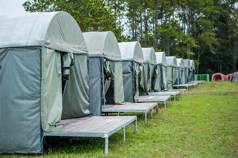 Obozowy namiot obraz stock