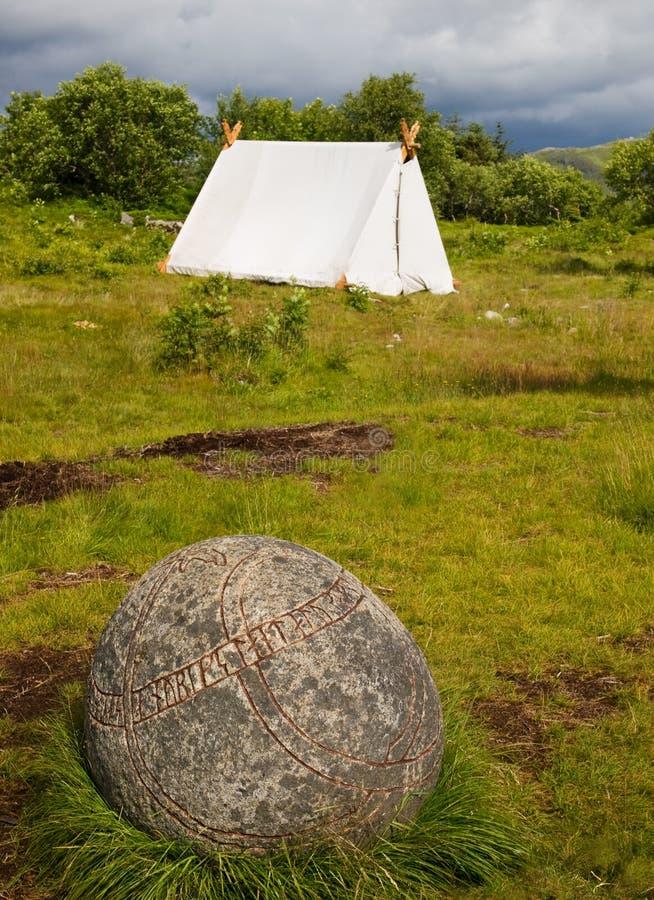 obozowy Viking obrazy stock