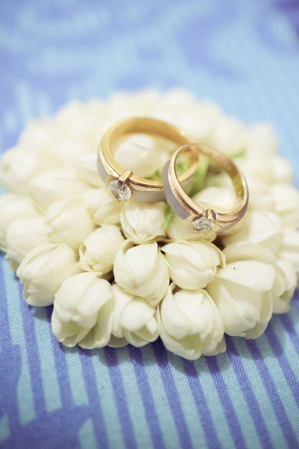 Obrączka ślubna zdjęcie stock