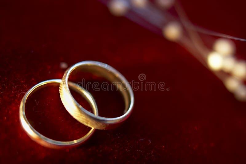 Obrączki ślubne 3 zdjęcie royalty free