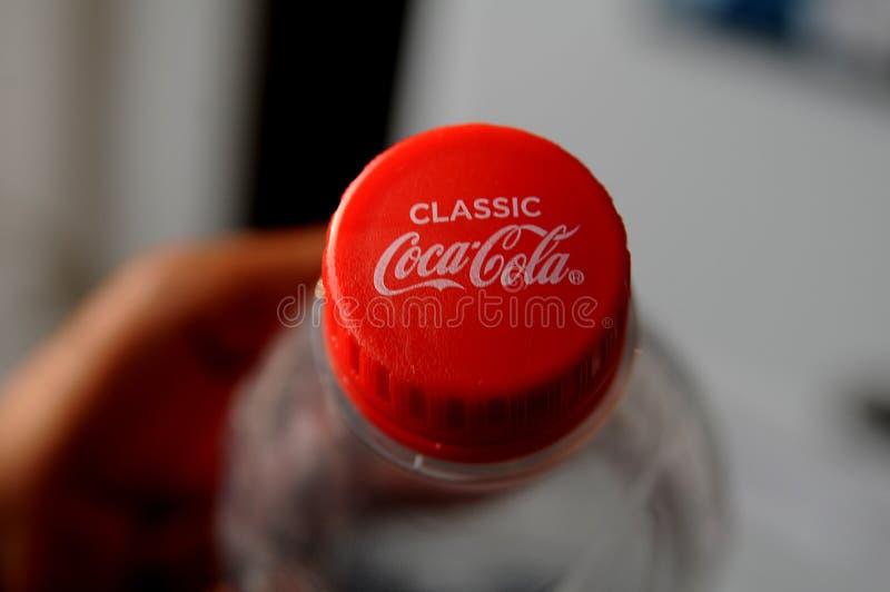 Obra clásica de la Coca-Cola fotos de archivo libres de regalías