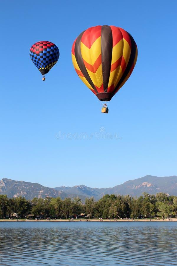Obra clásica del globo de Colorado Springs fotos de archivo