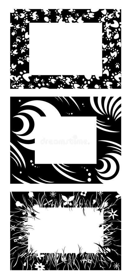 obramia monochrom ilustracji