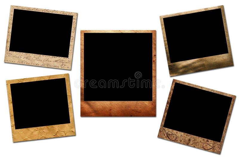 obramia polaroid royalty ilustracja