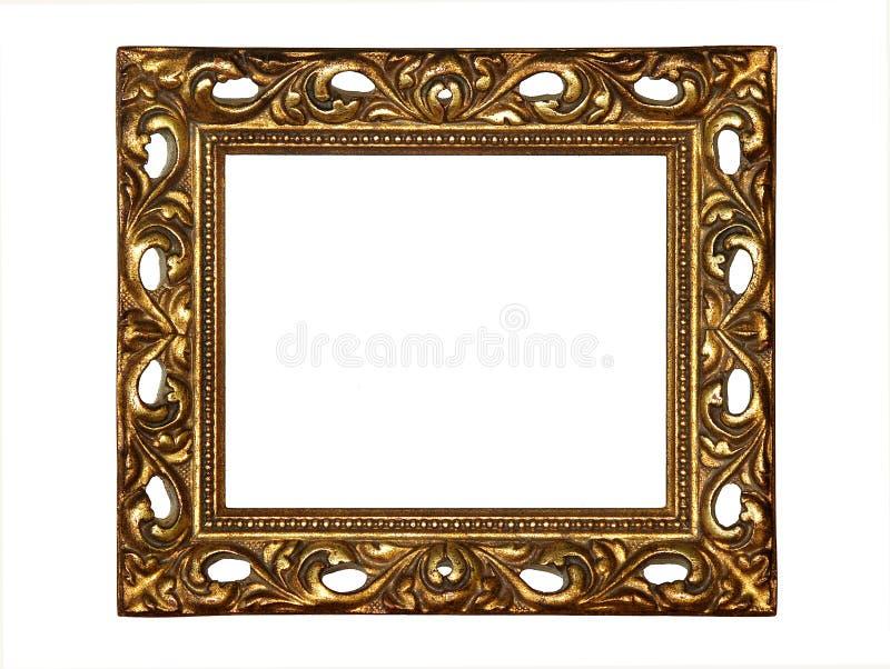 obramia złoto obrazy stock