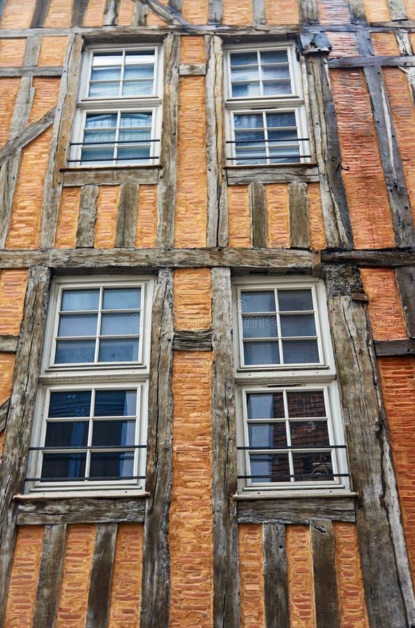 Obramiający budujący okno obraz royalty free