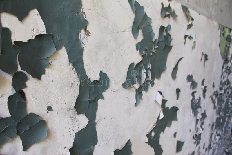 Obrana farba na ścianach obrazy stock