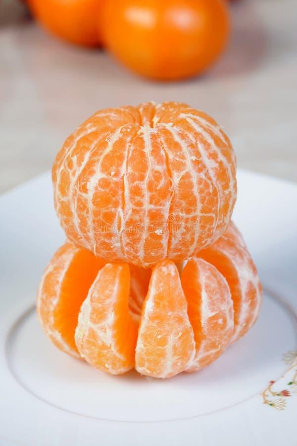 obrani półkowi tangerines obrazy royalty free