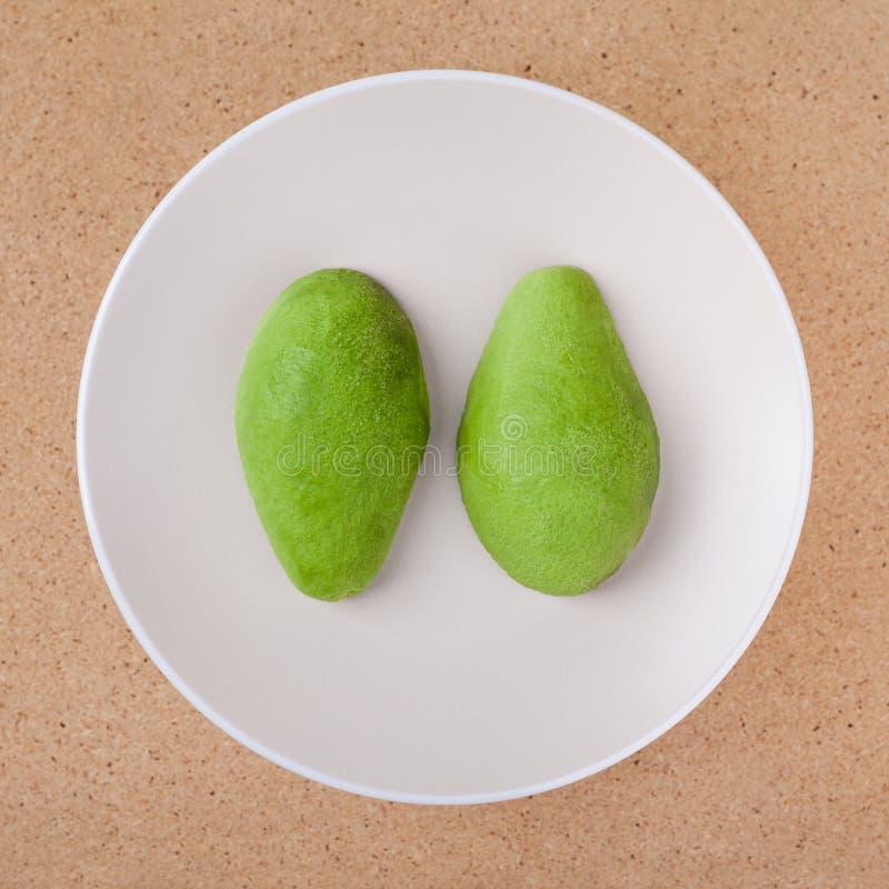 Obrany avocado obraz royalty free