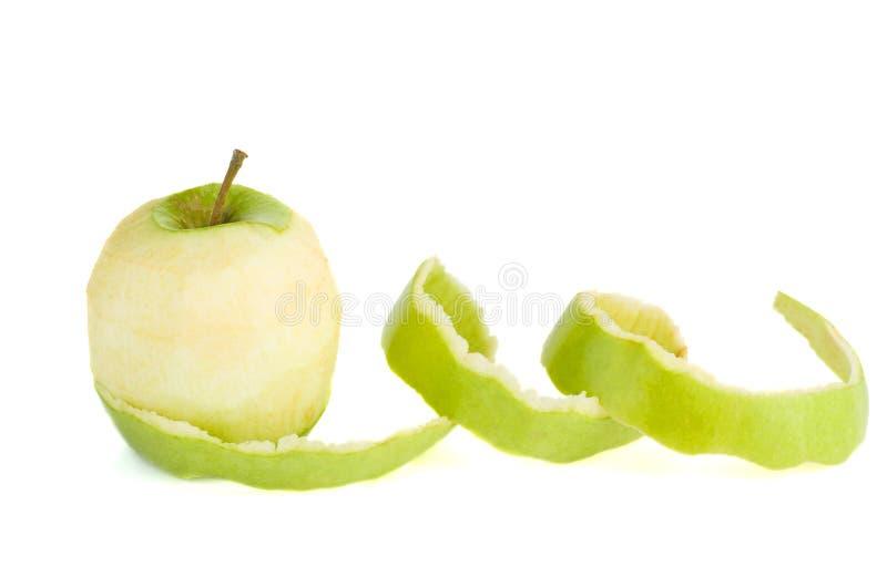 obrany zielony jab?ko zdjęcia stock