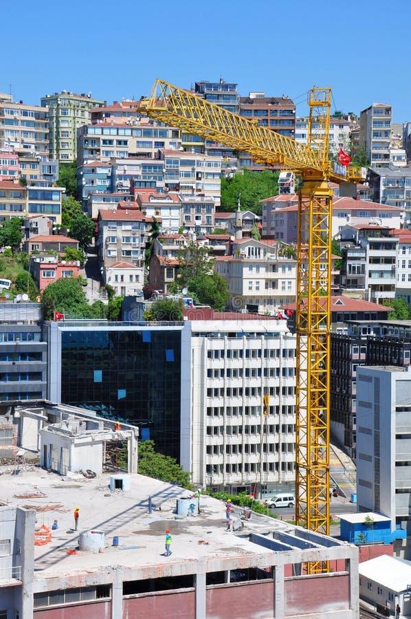 Obras em Istambul, Turquia foto de stock royalty free