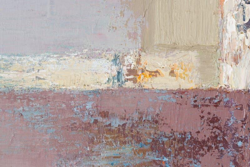 obraz abstrakcyjne Artysta nafcianych farb zbli?enia abstrakta stubarwny t?o zdjęcie royalty free